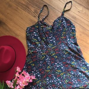 {Old Navy} Bustier Floral Staker Dress
